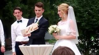 Свадьба. Винная церемония.