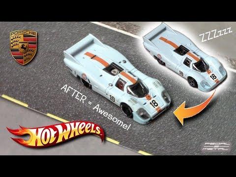 2018 Hot Wheels '71 PORSCHE 917 LH | Review and Detail Job