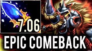 Dendi Plays Magnus ► Most Epic Comeback 7.06 Dota 2