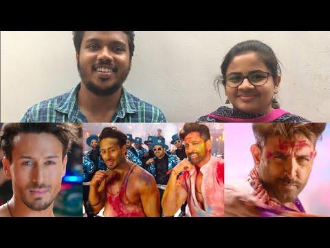 Jai Jai Shivshankar Song Reaction By South Indian Hrithik Fans  War  Hrithik Roshan  Tiger Shroff