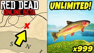 *SECRET* SPAWN UNLIMITED FISH TO MAKE FAST MONEY in Red Dead Online! Easy Money GLITCH in RDR2!