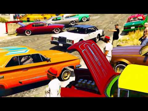 GTA 5 Online | Lowrider Car Show | Hosted by GoodFellazCC