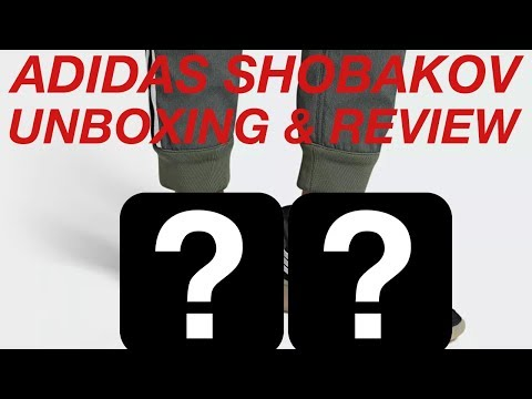 cheap for discount 2ddf9 0572e ADIDAS SOBAKOV UNBOXING  REVIEW!