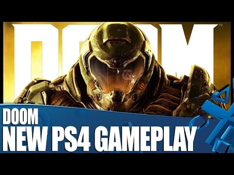 Doom - New PS4 Campaign Gameplay Part 1