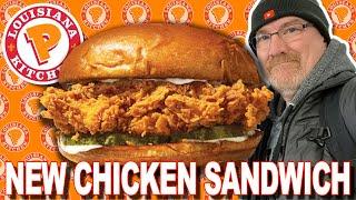 Popeyes NEW Spicy Chicken Sandwich  in Davenport, Iowa USA