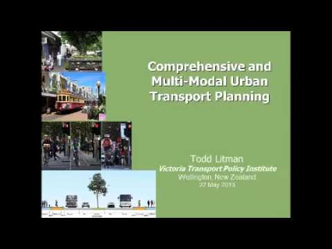 Comprehensive and Multi Modal Urban Transport Planning