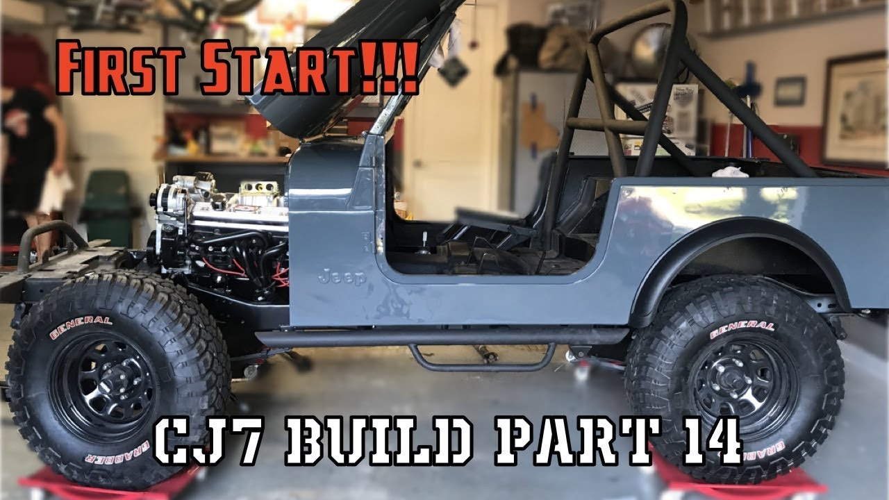 small resolution of complete reassembly jeep cj7 build part 14