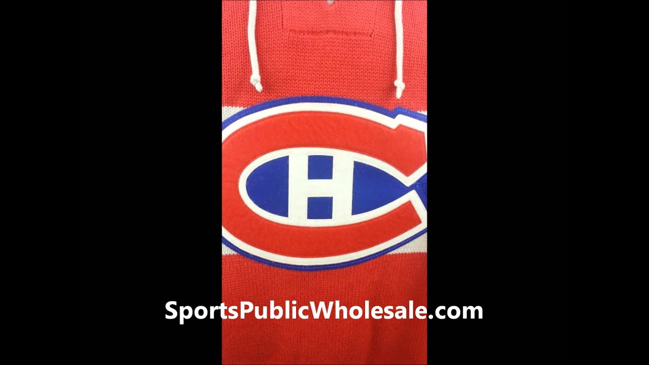 Montreal Canadiens CCM NHL 1955-56 Classic Heritage Knit Sweater ... 067ec11df