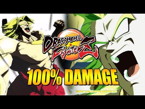 BREAKING BROLYS DAMAGE BARRIER: 100% Solo Damage & Combo Guide - DragonBall FighterZ