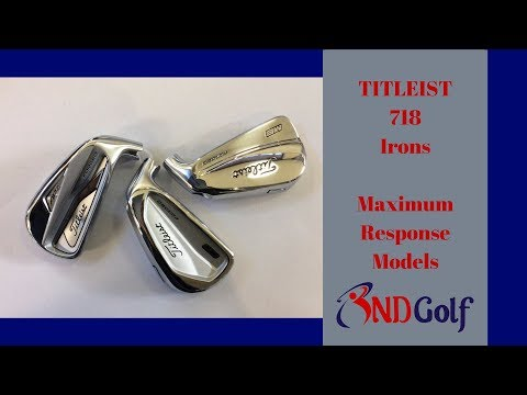 New Titleist 718 iron review (Ap2, CB and MB models)