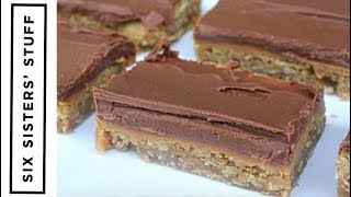 Lunch Lady Peanut Butter Bars | Six Sisters Stuff