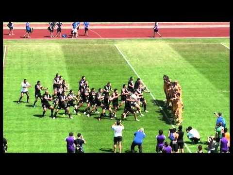 Students World Cup - Aus v NZ HAKA