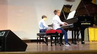 Primo movimento Sonata KV.545 Mozart-Grieg per due pianoforti
