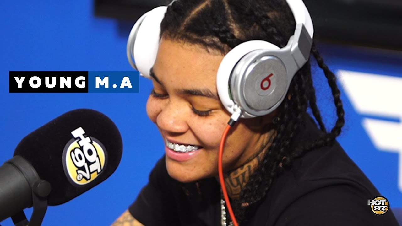Young M.A. Snaps On Funk Flex Freestyle