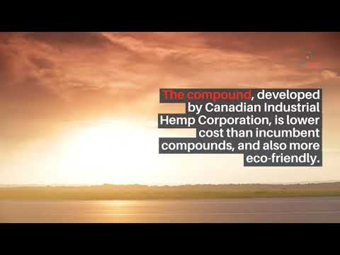 Canadian Industrial Hemp Corporation Develops Hemp Plastic Compound For Cannabis Packaging