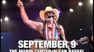 Willie Nelson LIVE at Marin Center in San Rafael, CA Sept 9, 2012