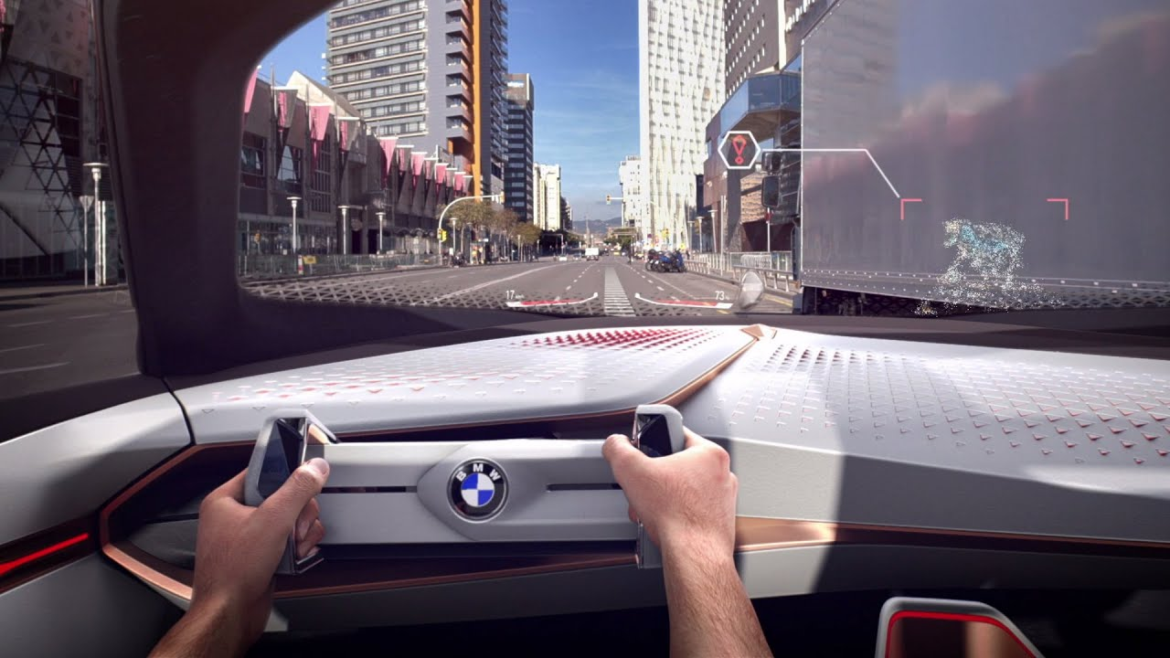 BMW Vision Next 100 Drive - YouTube