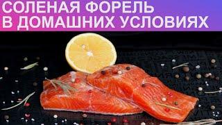 КАК ЗАСОЛИТЬ ФОРЕЛЬ В ДОМАШНИХ УСЛОВИЯХ? Как солить красную рыбу / Засолка форели / Малосольная рыба