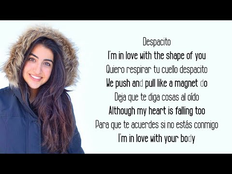Luciana Zogbi - Despacito Messy Mashup (Shape Of You, Faded, Treat You Better)(Lyrics)