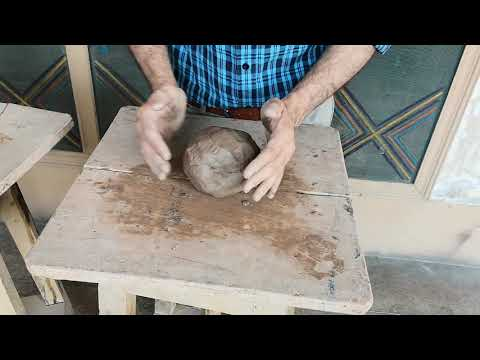 Cube making with clay