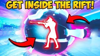 *INSANE* GET INSIDE LOOT LAKE RIFT ORB!! Fornite Funny Moments #656