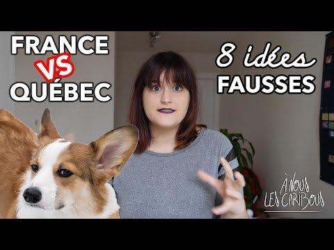 FRANCE vs. QUÉBEC : 8 IDÉES FAUSSES que les FRANÇAIS ont du QUÉBEC