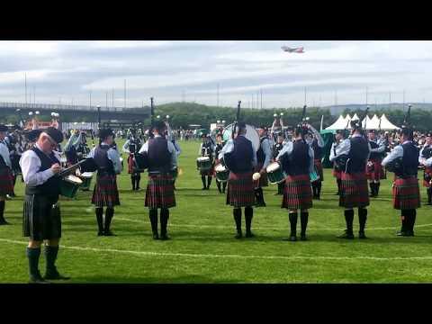 Field Marshal Montgomery Pipe Band - British Championships 2018 - Medley