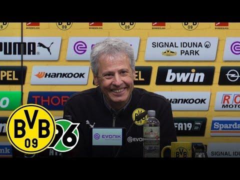 HIGH FIVE! Fünf Tore gegen Hannover | PK mit Lucien Favre | BVB - Hannover 96 5:1