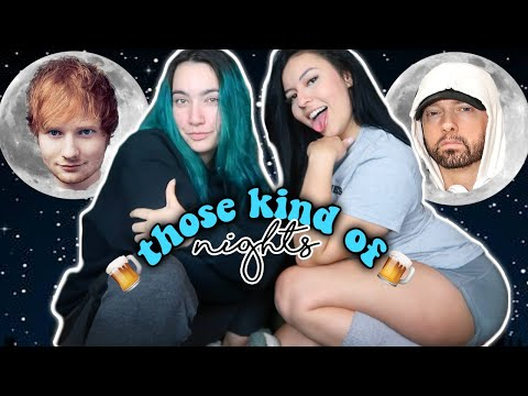 THIS GOES HARD!!! Eminem Ft. Ed Sheeran - Those Kind Of Nights REACTION!