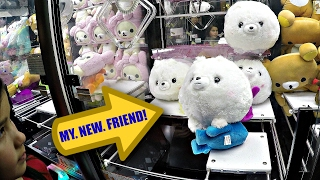 Arcade UFO Catcher Japanese Claw Machine LARGE Toy Prize Wins! クレーンゲーム