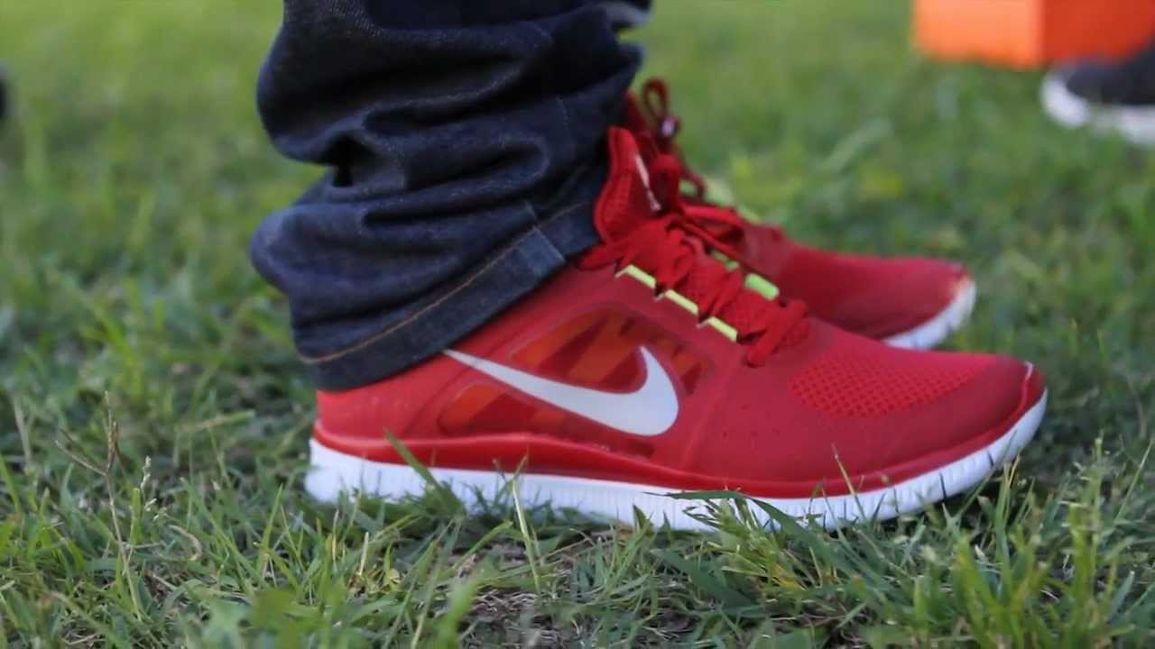 nike free flyknit 3.0 men's red jeans
