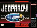 SNES Jeopardy! 13th Run Game #1