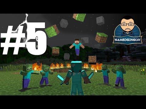 Minecraft Türkçe Survival Multiplayer Bölüm 5 (Samed Güngör Live)