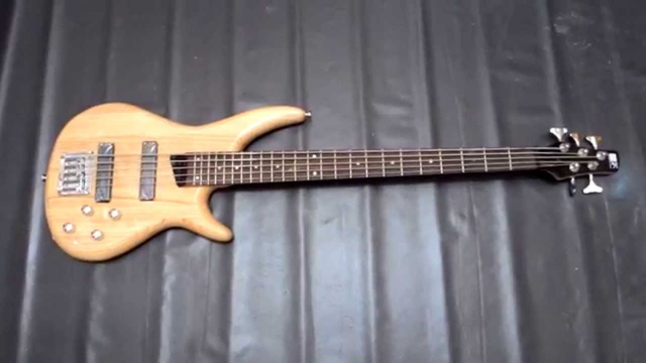 jual bass sdgr ibanez 5 string natural custom replika only 1 3jt starsgalery youtube. Black Bedroom Furniture Sets. Home Design Ideas