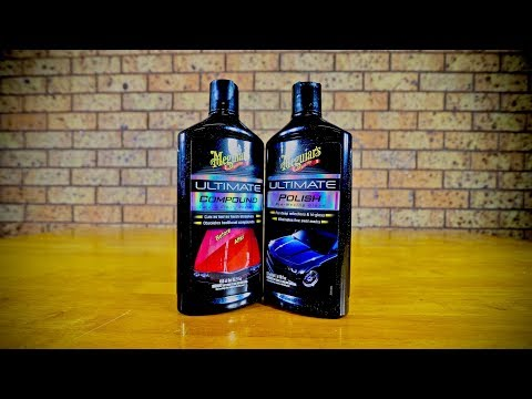 How To Use Meguiars Ultimate Compound & Polish+ Review & Demonstration
