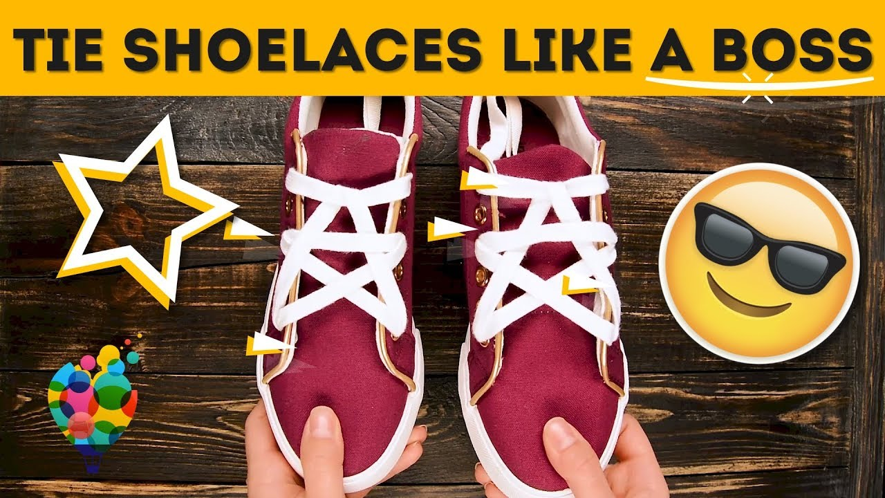 Lace your shoes in 6 creative ways how to tie shoelaces like a boss lace your shoes in 6 creative ways how to tie shoelaces like a boss a hacks ccuart Image collections