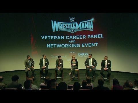 WrestleMania 31 Veteran Career Panel and Networking Event