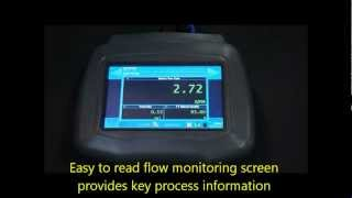 Portable Hybrid Ultrasonic Flow Meter | http://www.kimans.com/products.html
