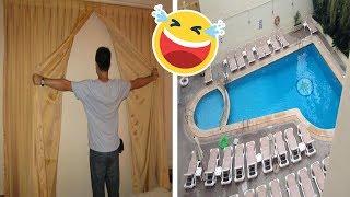 10 Hoteles con fallas para llorar (de risa!)