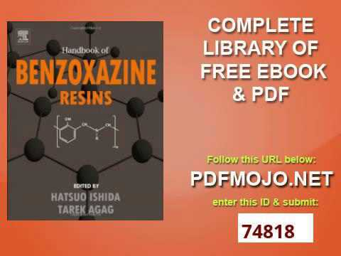 Handbook Of Benzoxazine Resins Pdf