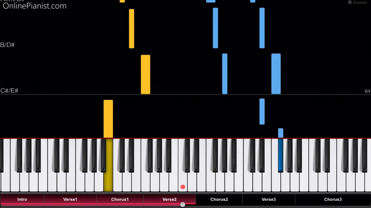 OnlinePianist – Piano Tutorials For Popular Songs – Music