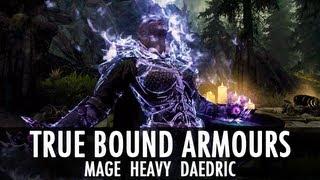 Skyrim Mod: True Bound Armours & Daedric