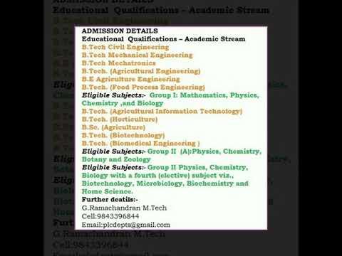 Medicine, Dental ,  Health Sciences, Paramedical , Engineering course details in Tamilnadu, India
