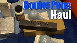 Goulet Pens Haul Unboxing