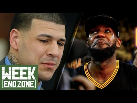 Should We Feel Sorry for Aaron Hernandez? Is LeBron James Under-Appreciated by Fans? -WeekEnd Zone