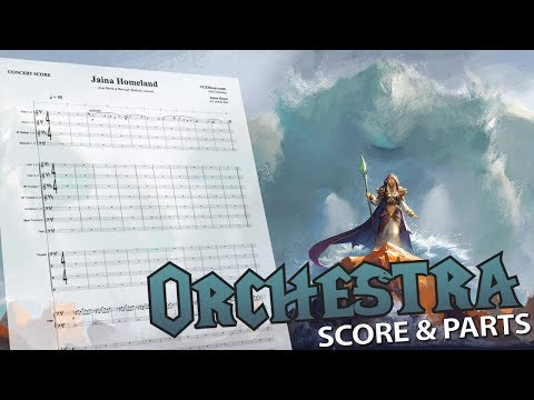 World of Warcraft: Jaina Homeland   Orchestral Cover
