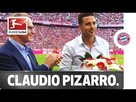 Bayern Bid Farewell to Pizarro in Front of 75,000 Fans