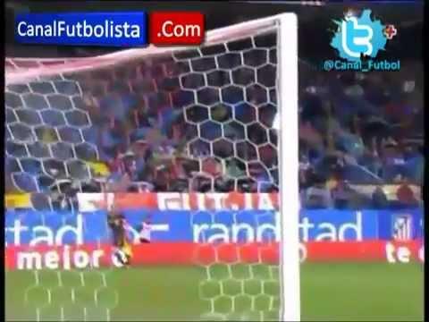 Atletico Madrid 0-1 Malaga  Goal dI Eliseu HD