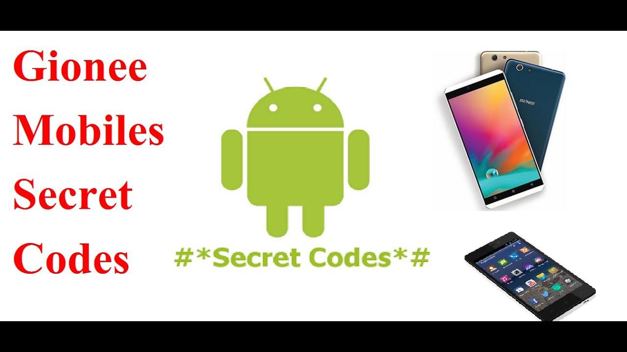 Gionee Mobiles Secrets Codes