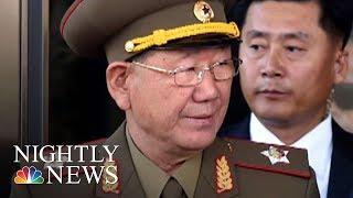 One Of Kim Jong Un's Top Generals Has Vanished | NBC Nightly News